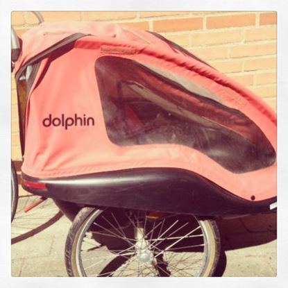 winther dolphin cykeltrailer