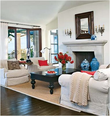 Coastal living room design ideas room design ideas for Coastal living ideas