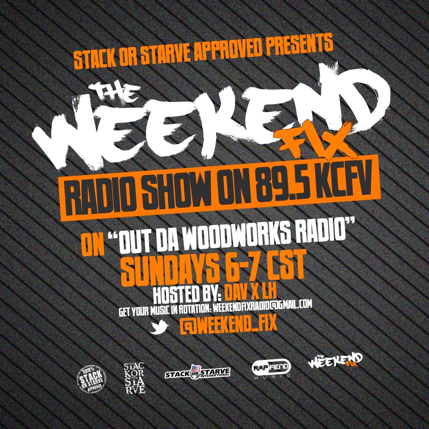 The Weekend Fix Radio Show
