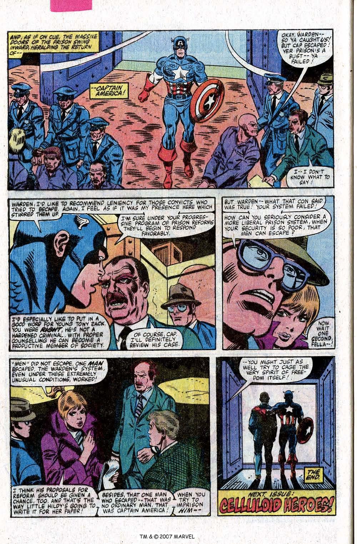 Captain America (1968) Issue #260 #175 - English 32