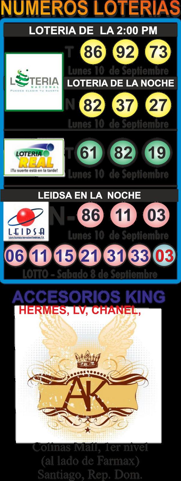 Jpeg numeros ganadores de hoy de las loterias de republica dominicana