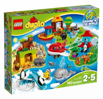 TOYS : JUGUETES - LEGO Duplo  10805 Alrededor del Mundo | Around The World  Producto Oficial 2016 | Piezas: 163 | Edad: 2-5 años  Comprar en Amazon España & buy Amazon USA