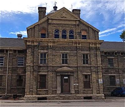 Vaughan Street Jail at 444 York Avenue.