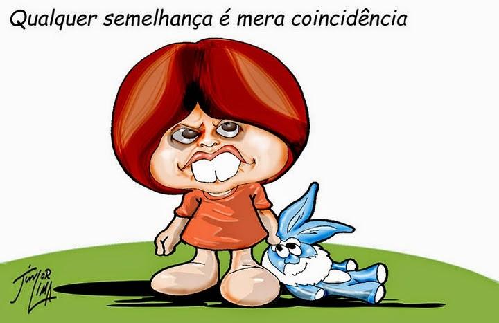 No surrealista Brasil a vaca tossiu e a dentuça mentiu