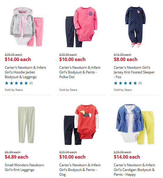 Sears kids clothing