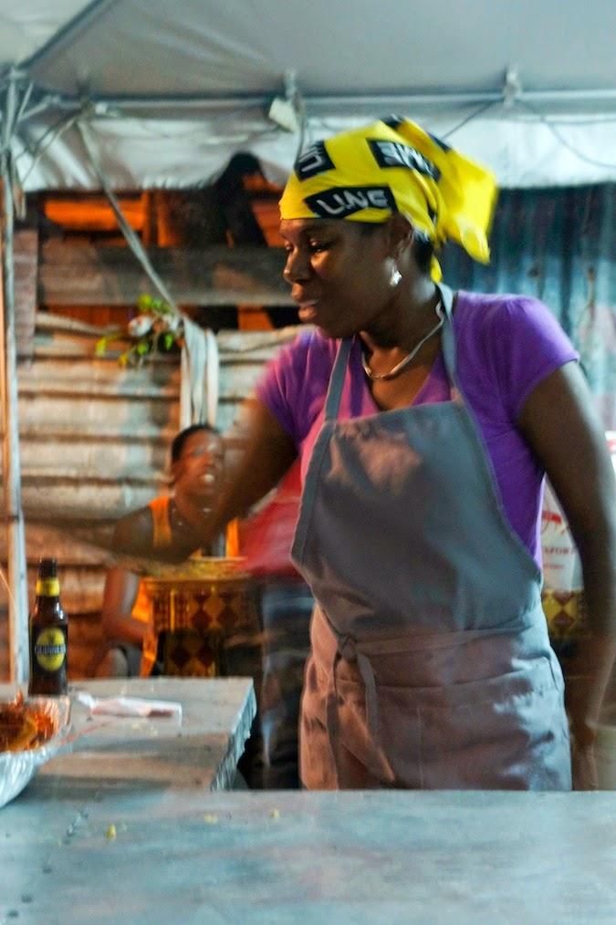 St. Lucia street fair