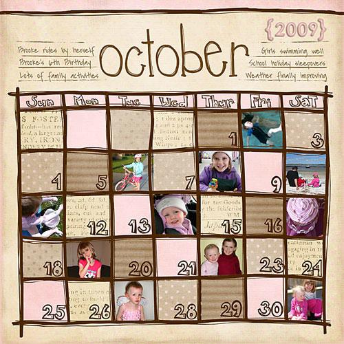 Календарь семейных праздников своими руками