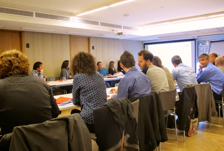 Investigadores en reunión HF Radar en Mallorca