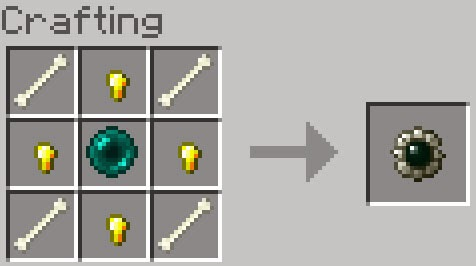 Mo' Creatures crafting medallón caballos Minecraft mod