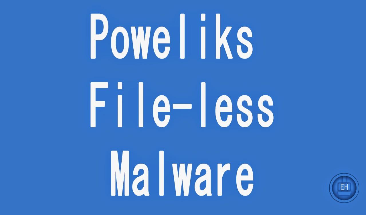 poweliks malware file less