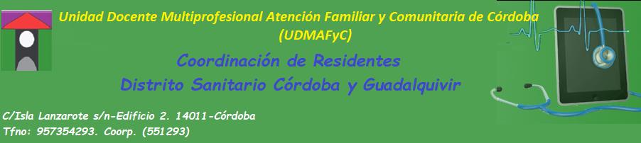 UDMAFyC DS.CÓRDOBA Y GUADALQUIVIR