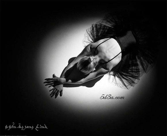 خدع بصرية - ballerina-illusion