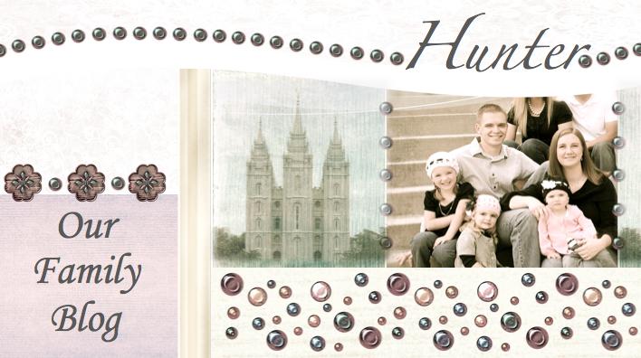 Hunter Family Blog
