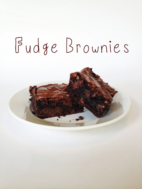 King Arthur Flour Fudge Brownies--- whenlifegivesyousprinkles.blogspot.com