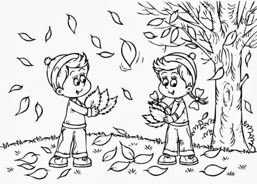 How Fall Coloring Pages Make Wonderful Moment