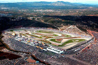 Circuito de Velocidad 'Ricardo Tormo' en Cheste (Valencia, Comunidad Valenciana, España)