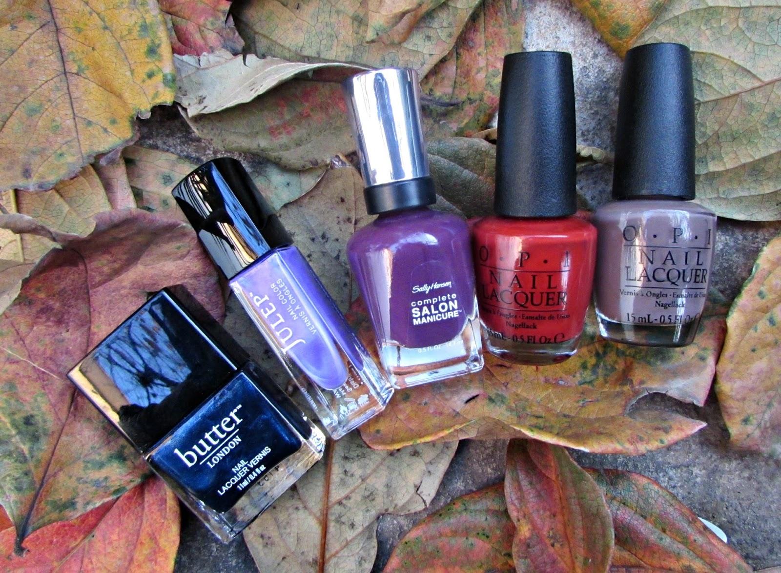 Fall / Winter Nail Polish Picks!   Nayab Loves