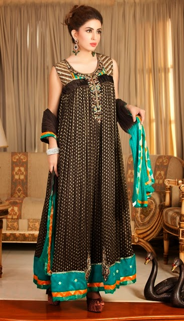 Exclusive Eid Collection 2014 Party Dresses
