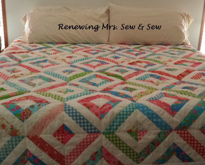 Renewing Mrs Sew Amp Sew A New Quilt Finish