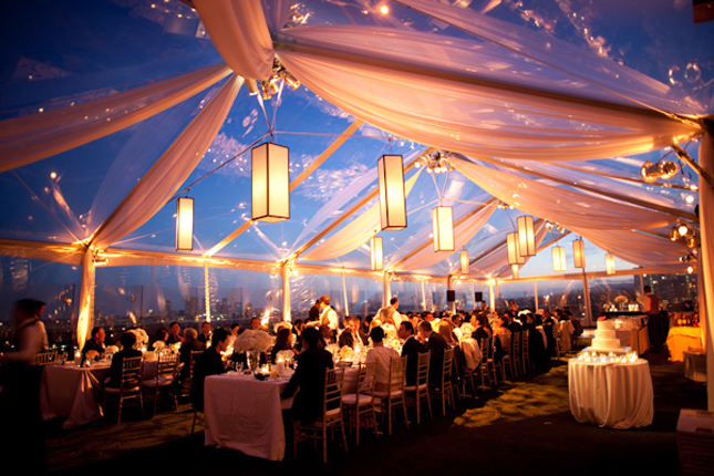 Here is an array of some serious swoonworthy tented wedding inspirations I