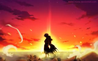 natsu lucy hug sunset fairy tail anime hd wallpaper 1920x1200 b025.