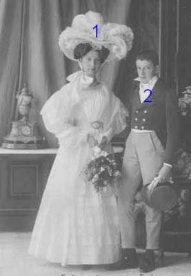 Elisabeth Franziska et Franz Karl d'Autriche-Toscane