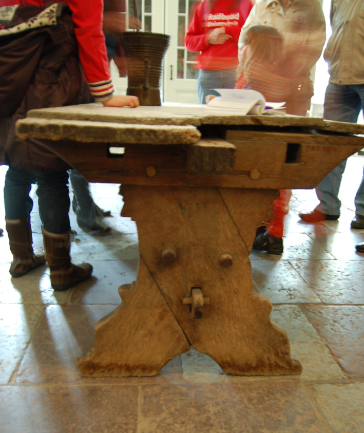 The Medieval Table From Kloster Medingen