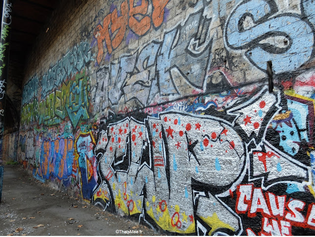 street art  gare de saint-ouen paris petite ceinture couronne graffiti tags