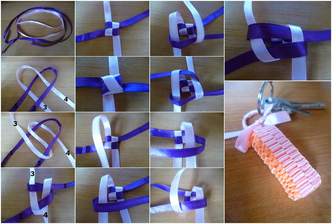 diy projects with ribbon diy ribbon keychain diy craft projects