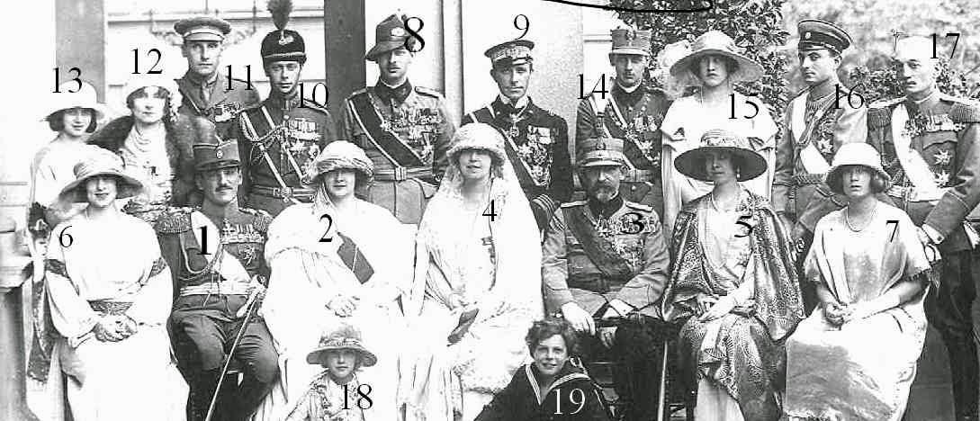 Mariage d'Alexandre, roi des Serbes, Croates et Slovènes et de Maria de Roumanie