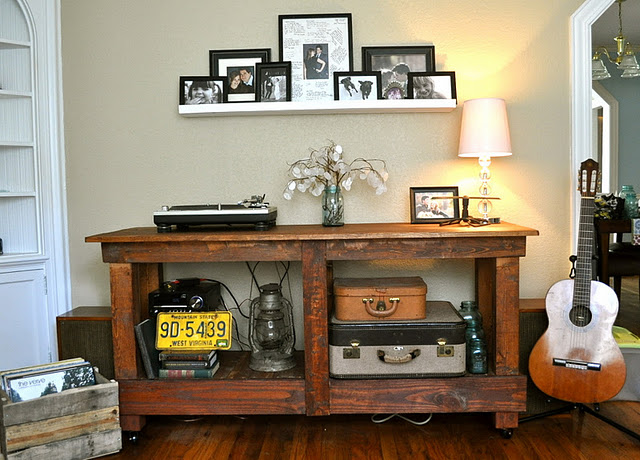 Pottery Barn Rustic Table