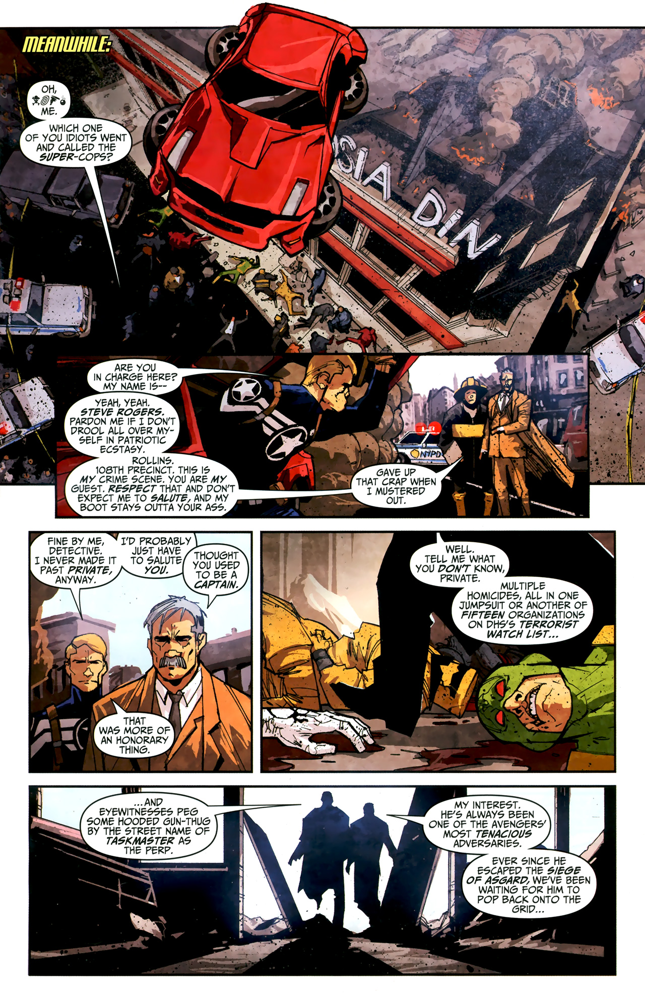 Read online Taskmaster (2010) comic -  Issue #3 - 10