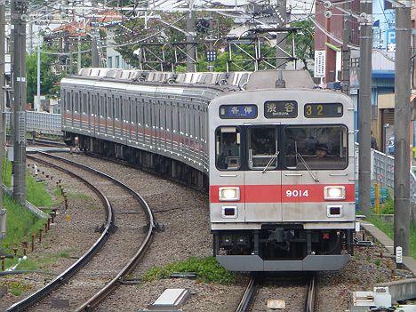 東急東横線 各停 渋谷行き 9000系