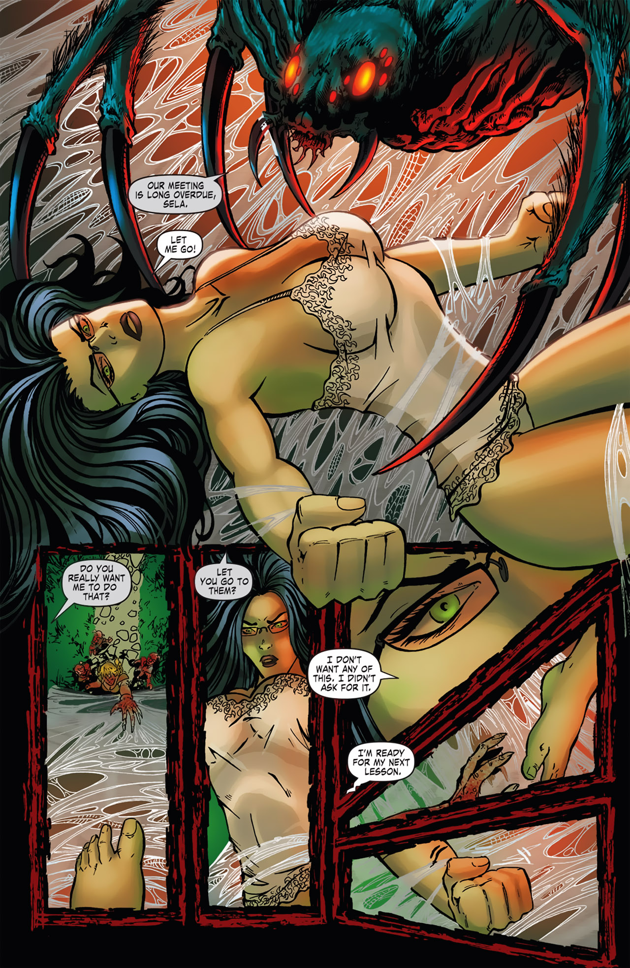 Grimm Fairy Tales (2005) Issue #16 #19 - English 12