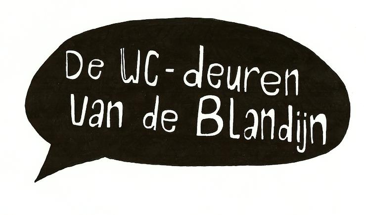 De WC-deuren van de Blandijn