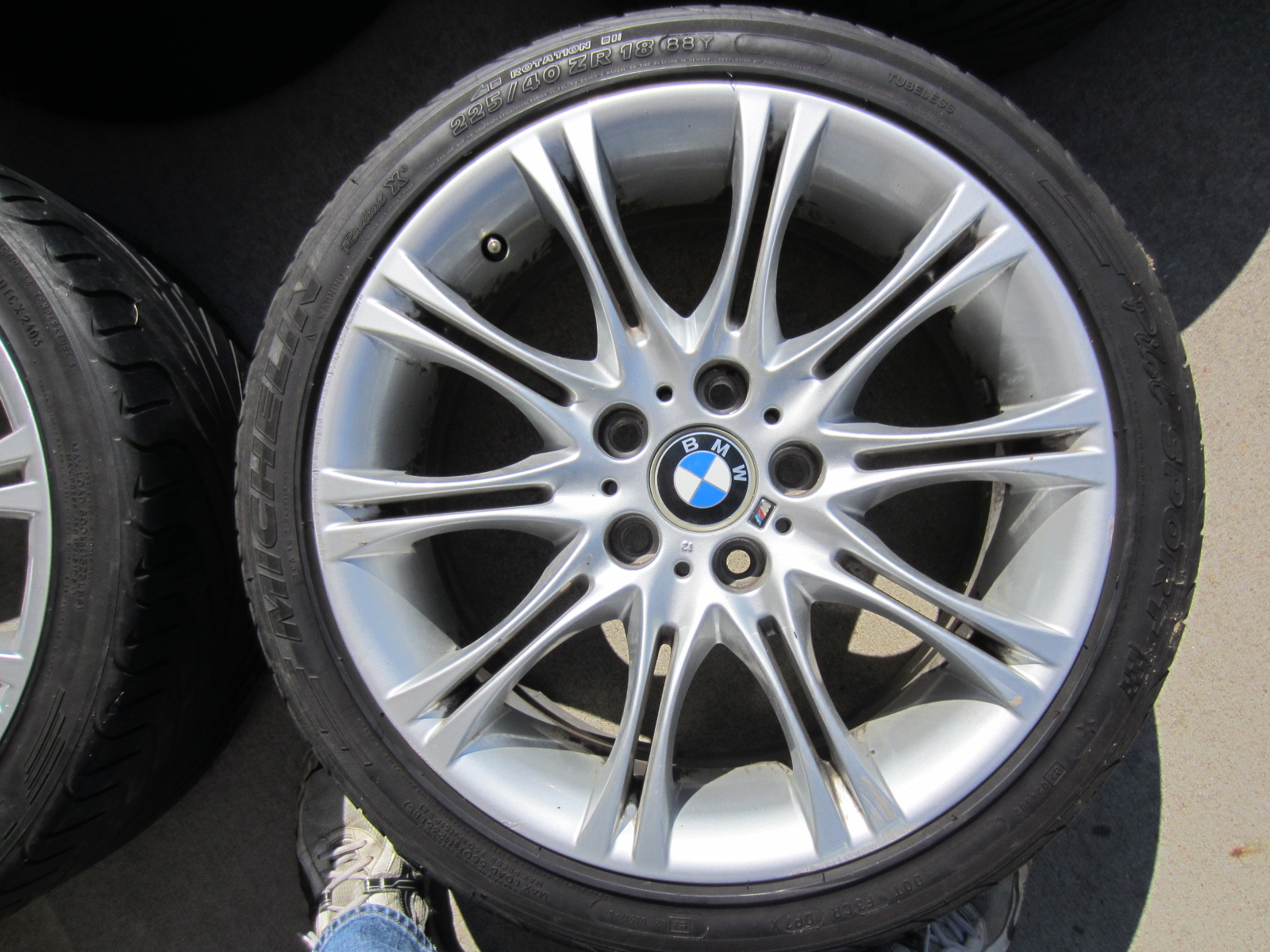 multipiece set of itm style piece wheels bmw bbs sport for sale four picture oem