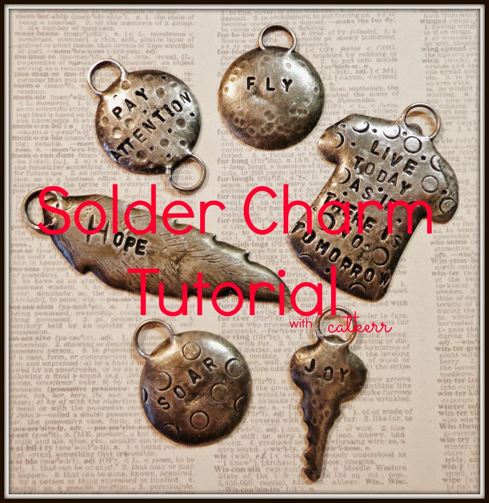 Solder Charm Tutorial On Etsy