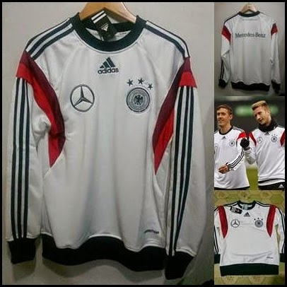 Sweater GO Jerman Putih