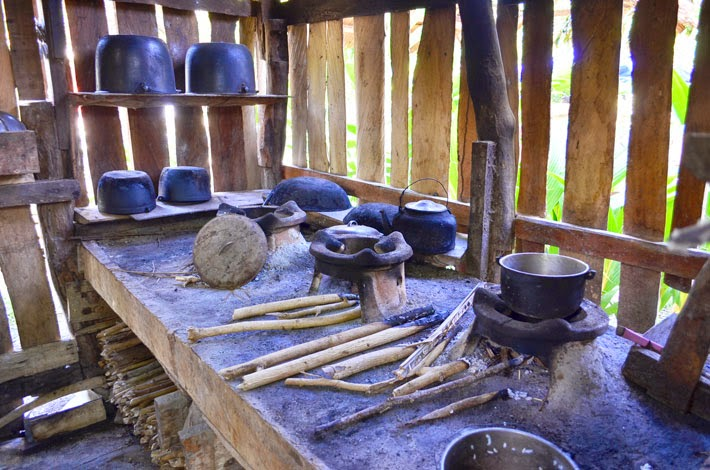 Traditional Kitchen, Siquijor Island, Philippines