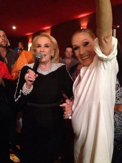 Mirtha Legrand nuevamente viendo La Casa de Bernarda Alba