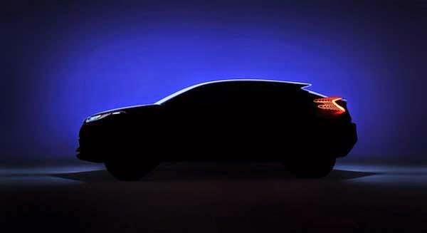 2016 New Toyota C-HR Concept