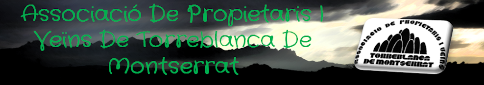 Associació De Propietaris I Veïns De Torreblanca De Montserrat