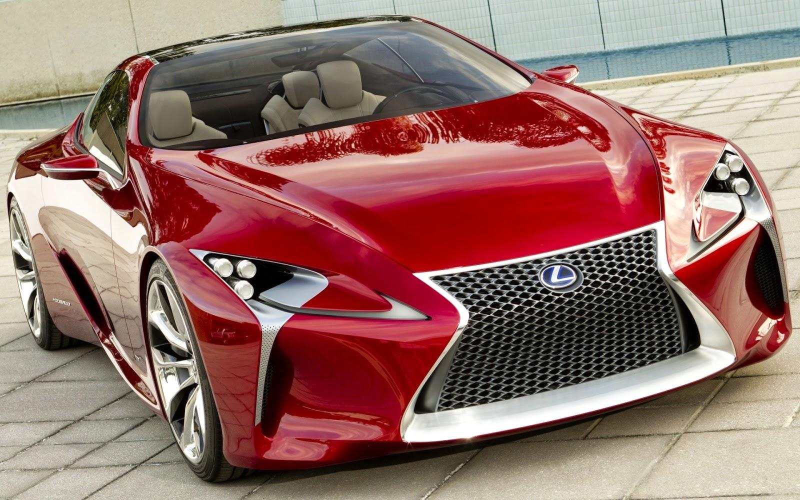 Foto Mobil Sport Mewah Lexus