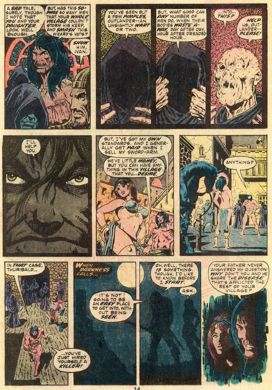 Conan the Barbarian (1970) Issue #64 #76 - English 9