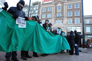 تظاهرات ایرانیان مقیم بوستون و حمایت از تظاهرات 25 بهمن