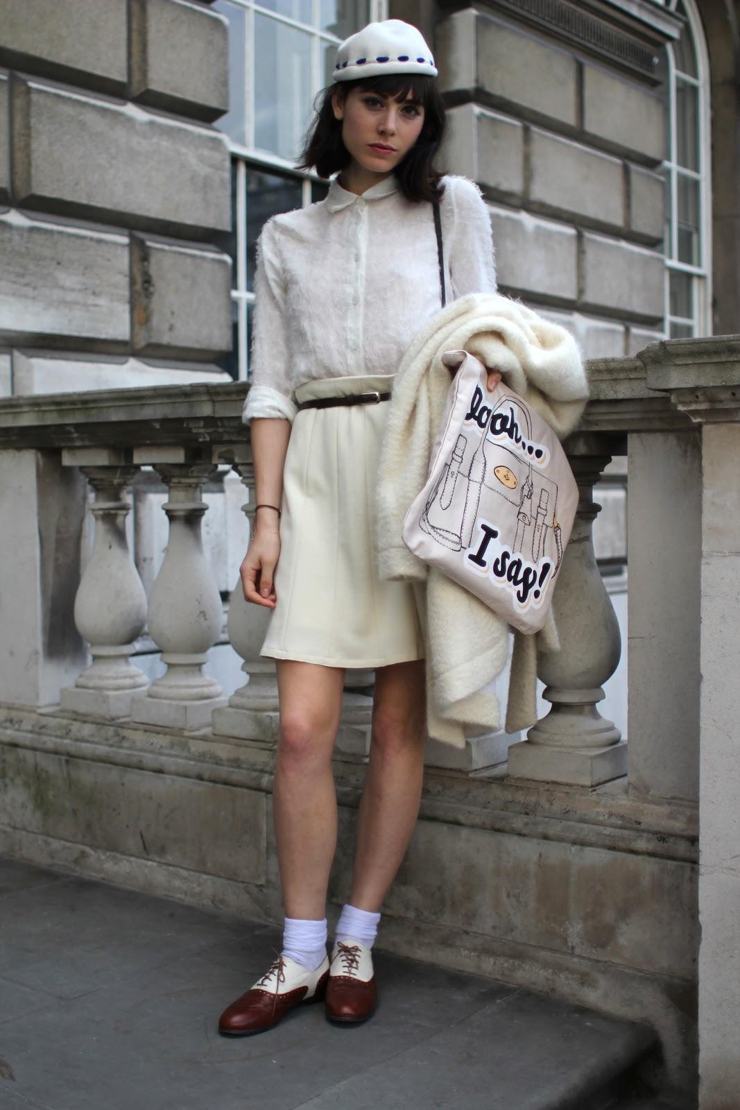 Styleeast London Fashion Week Street Style Whites