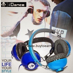 iDance Headphones and Earphones min. 70% off + 5% off starts from Rs. 257 at Snapdeal
