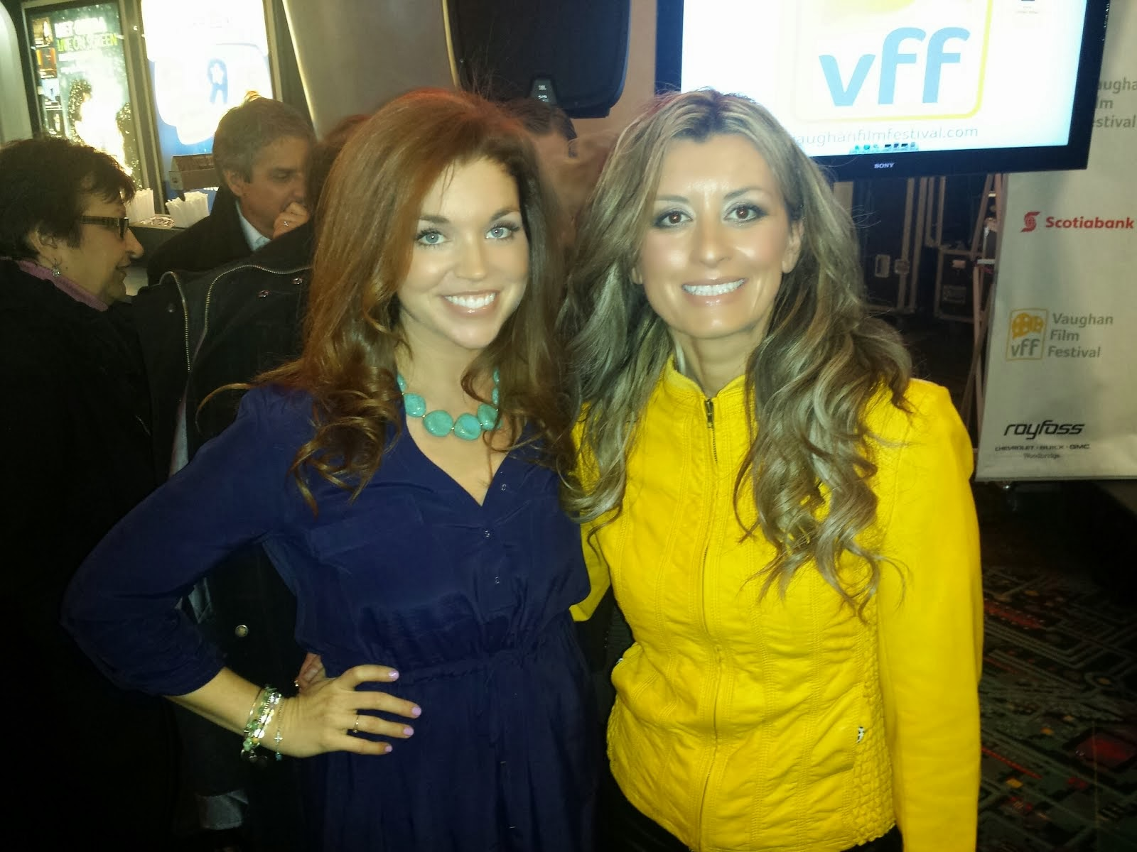 Host of VFF Media Launch, Michelle Beilhartz