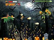 Ngọc rồng Halloween, game hanh dong