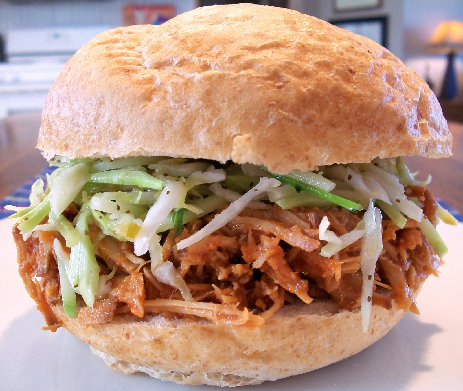 My Kind of Cooking: Pulled Pork Sandwiches with Mexican Coleslaw